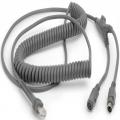 CBA-K06-C12PAR - Câble de clavier Zebra PS / 2